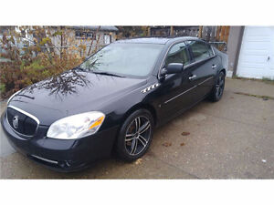 2007 Buick Lucerne CXS highest luxury pkge + 5 new winter tires
