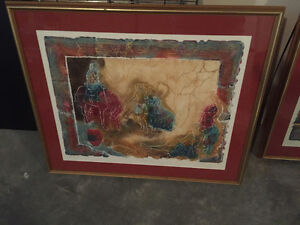 Two artist proof prints framed Prince George British Columbia image 1