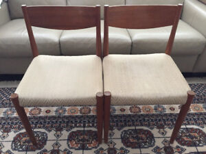 Solid Teak Chairs