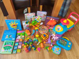 Toddler Toy/ Book Bundle