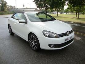 Volkswagen Golf 1.4 TSI ( 160ps ) GT Convertible 2012/62 Only 25k FSH
