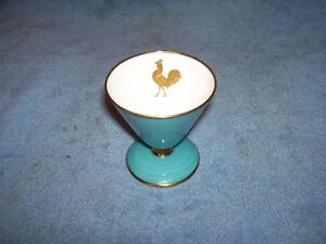 Unique shape Cone Aynsley Egg Cup - Stunning color