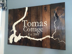 Custom Handmade Wood Signs
