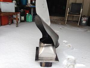 rotating chimney top