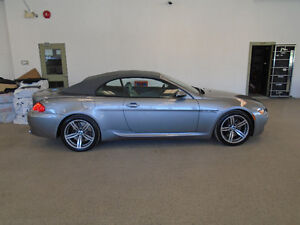2007 BMW M6 CONVERTIBLE 500HP V10! SMG! 99,000KMS! ONLY $32,900!