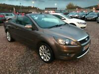 2009 FORD FOCUS CC 2.0 CC-3 143 BHP, CONVERTIBLE,ONLY 47000 MILES WARRANTED.