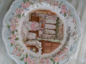 Collectors dairy plate