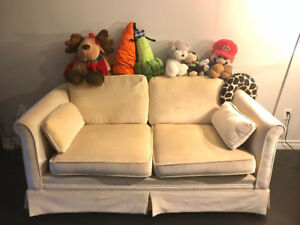 Beige sofa for sale!