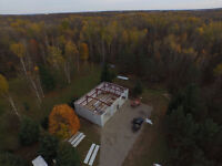 Steel Building Sales and Erecting Services in Woodstock