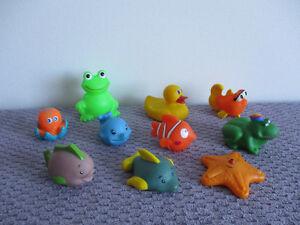 10  Petits  Jouets  Pour Le  Bain