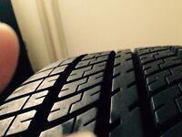 205/60 x 15 Nearly New Part Worn Tyre & BMW Alloy