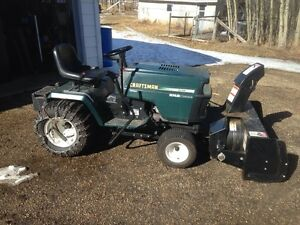 lawn tractor/ snow blower