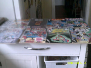 SUPER HEROES COMIC BOOKS DC, MARVEL,8 BOOKS