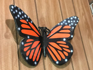 Wooden Butterflies-outdoor wall decor