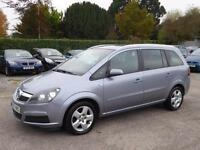 VERY LOW MILEAGE 2007 VAUXHALL ZAFIRA ENERGY 1.8i 16v VVT FULL SERVICE HISTORY