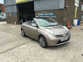 2006 NISSAN MICRA 1.6 C+C SPORT CONVERTIBLE,ONLY 47000 MILES,