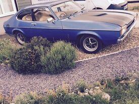 Ford Capri 1977 2.0L mk2 with mot