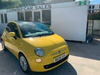 2008 Fiat 500 1.2 Sport 3dr ONLY 73,000 MILES 1.2 Petrol Sunroof Alloys Leather