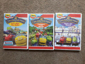 Kid's  DVDs - Turbo Dogs, Chuggington, Epic