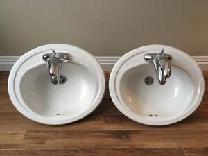 Bathroom Sinks / Moen Faucets