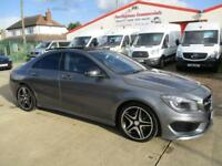 2014 Mercedes Benz CLA 220 2.1 CDI ( 170bhp ) 7G-DCT AMG Sport panoramic roof