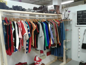 Vintage clothing at One of A Kind Antique Mall