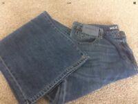Next Wide Leg Jeans. Size 12 Petite brand New