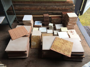 Large Variety of  Tiles