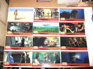 Star Wars Phantom Menace Widevision Cards # 1 -80 Card Base Set