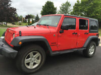 2015 Jeep Wrangler Sport Unlimited SUV, Crossover