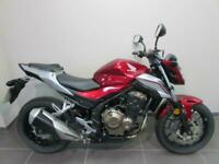 HONDA CB500FA-J, 18 REG 8439 MILES, 500cc NAKED STREET COMMUTER BIKE WITH ABS...