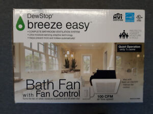 DewStop Breeze Easy Complete Bathroom Ventilation System