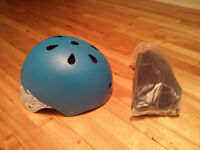 Blue helmet for adults, good as new