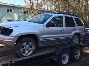 Parting out jeep grand Cherokee
