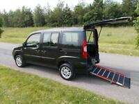2010 10 Fiat Doblo 1.4 Top Spec WHEELCHAIR ADAPTED DISABLED ACCESSIBLE WAV