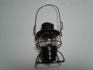 value of old railroad lanterns