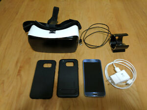 Samsung Galaxy S6 With Gear VR and accessories