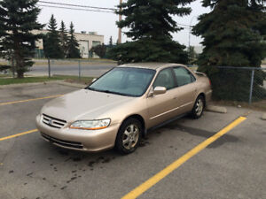 2001 Honda Accord - Great Condition - Low Km + ExtraWinter Tires