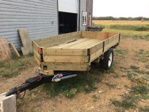 Custom-built 5'x10' Utility Trailer