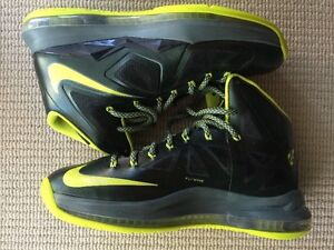 Nike Lebron X dunkman XDR US10 jordan basketball shoes DS