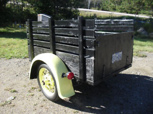 1931 Model A style trailer