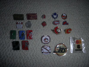 Hockey & Olympics Pins (metal)