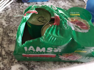 Iams lamb and rice 18 cans