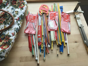 57 pair of knitting needles,gauge etc Kingston Kingston Area image 1