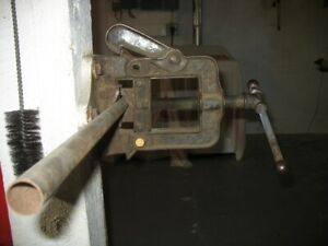 Antique (80 year-old) Extremely Strong Pipe Vice