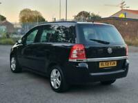 7 SEATER VAUXHALL ZAFIRA 1.6 PETROL MANUAL IN CLEAN CONDITION. 1 YEAR MOT.