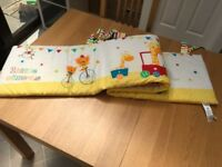 Cot bumper from Mothercare