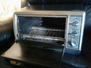 Conventional toaster oven