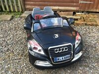 Audi TT style electric ride on car