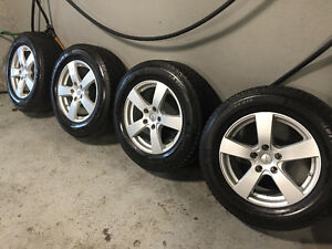 4 Michelin X-Ice Winter Tires on Alloy Rims - 235/65R17